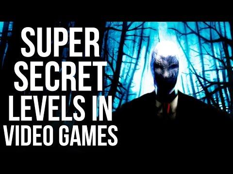 Super Secret Levels in Video Games!