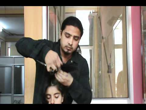 U cut Hair cut video