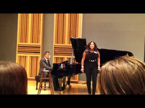 The Hit Man David Foster plays ''Through The Fire'' written by David Foster, sung by Concetta