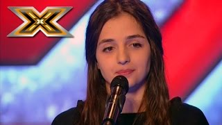 Conchita Wurst «Rise Like a Phoenix» by young girl. The X Factor - TOP 100