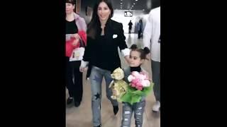 Ани Лорак с дочкой 21 05 2017