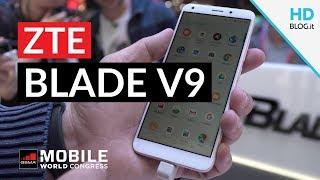 ZTE Blade V9 e V9 Vita con ANDROID OREO 8.1 | MWC 2018
