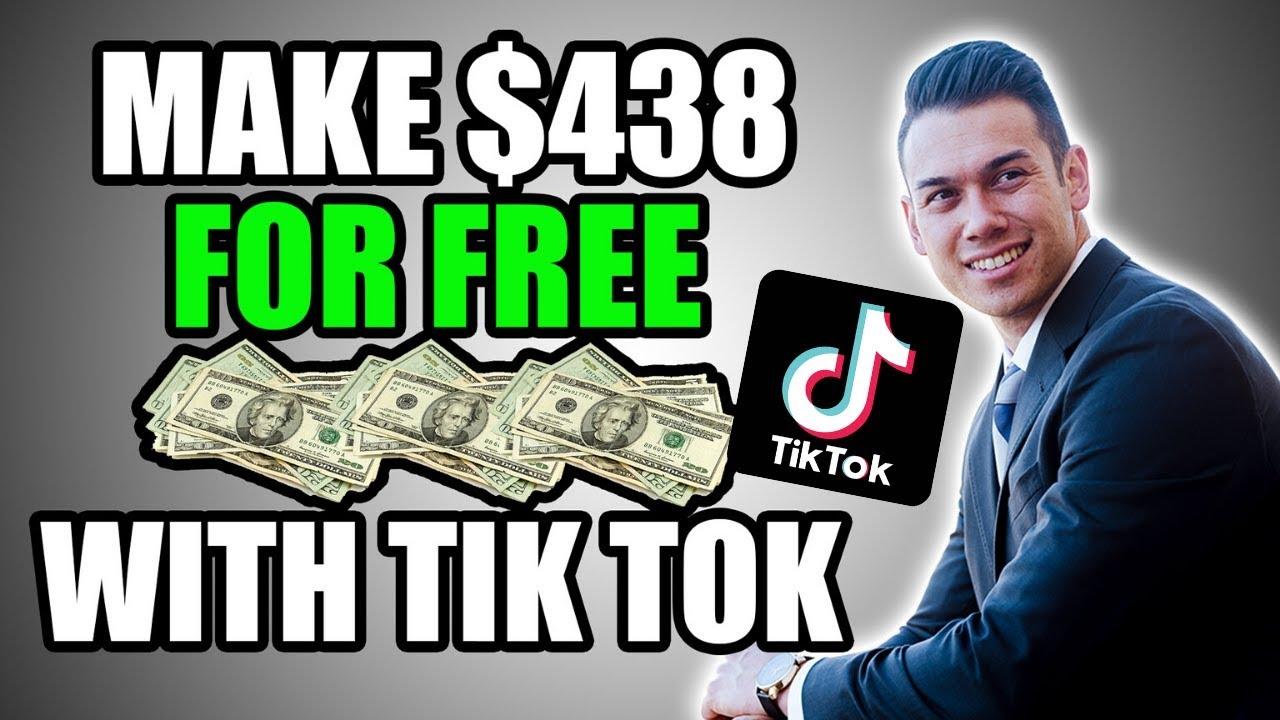 MAKE $438 Daily Utilizing TikTok (Generate Income Online App Totally Free With Tik Tok) thumbnail