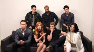 Shadowhunters cast interview buzzfeed
