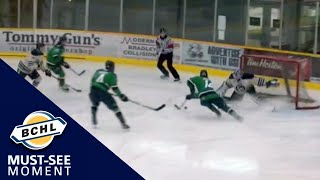 Must See Moment: Michael Abgrall sets up Buddy Johnson on a 3-on-1 rush