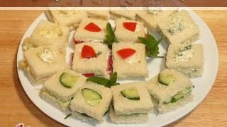 Finger Sandwiches Recipe By Manjula