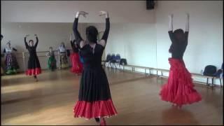 Как танцевать цыганский танец, урок - Видео онлайн