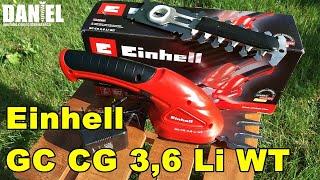 Einhell GC CG 3,6 Li WT, Foarfeca de tuns iarba si arbusti cu acumulator