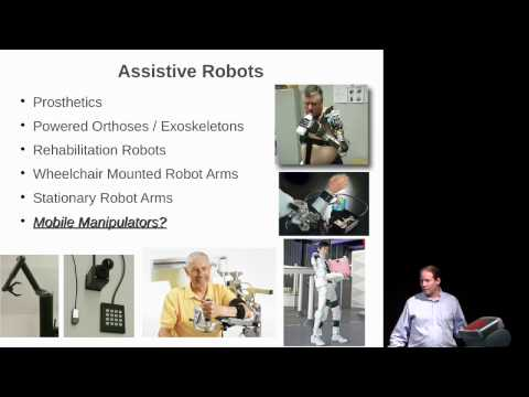 Part 1 of 2: Georgia Tech: Assistive Mobile Manipulation for Older Adults at Home