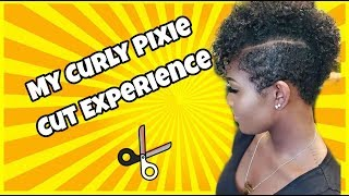 VLOG #16: My Curly Pixie Cut Experience | Shannon Marie