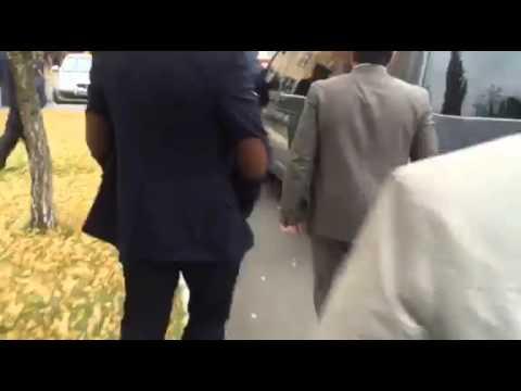 Корбана вывезли из суда сотрудники СБУ