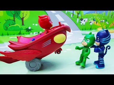 Герои в Масках - мультики с игрушками для детей 🔴 Прямой эфир, Приключения Игрушек