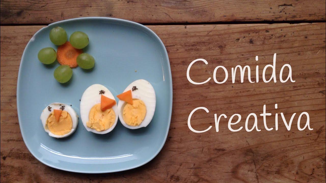 Recetas con HUEVO DURO creativas | RECETAS faciles para niños