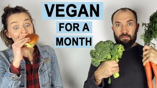 I Went Vegan for a Month. Here's What Happened.