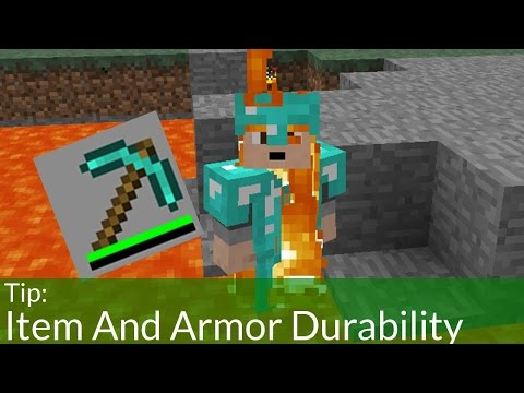 Item and Armor Durability in Minecraft...EXPLAINED