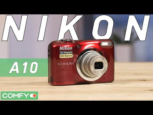 Купити Фотокамера Nikon Coolpix A10 Red (VNA982E1) за низькою ціною ... 509ca3f985f4e