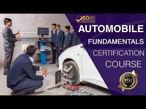 Fundamentals of Automobile Engineering Course -  (ऑटोमोबाइल इंजीनियरिंग कोर्स के बुनियादी ढांचे )