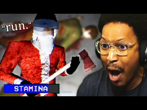 RANDOM HORROR GAMES (Evil Santa Edition)