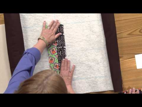 Quilting Quickly: Hocus Pocus Quilt - Quilt-As-You-Go Table Quilt Pattern