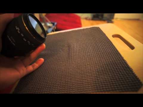Easily Remove Camera Lens Filters With A Drawer Liner