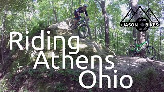 Riding Sells Park And Strouds Run Trails With A Local