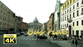 preview picture of video 'Rome, City Tour by Bus - Italy 4K Travel Channel'