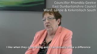 Making a difference as a councillor