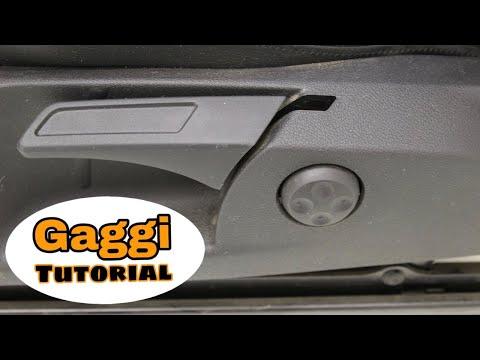 Höhenverstellung Fahrersitz reparieren | Sitz VW Golf Tiguan defekt ( Tutorial )