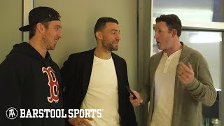 BizNasty And Ryan Whitney Get A Tour Of Kevin Hayes New York Crib