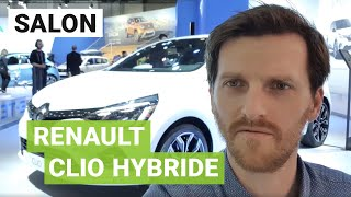 NOUVELLE Renault CLIO hybride : l'électrification est en marche