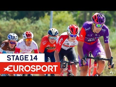 Video | Samenvatting etappe 14 Vuelta a Espana 2019