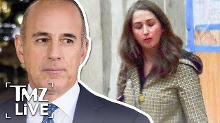 Matt Lauer Accuser Brooke Nevils Kisses BF, Rips 'Victim Shaming' Lauer | TMZ Live