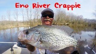 Crappie Fishing North Carolina's Eno River