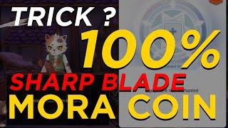 TRICK 100%? Advance Enchanment Mora Coin Melee Attack ( Sharp Blade ) - Ragnarok M Eternal Love
