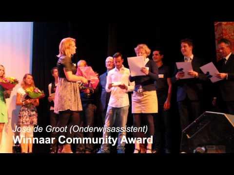 Uitreiking Koning Willem I College Awards