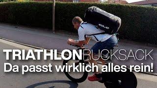 ORCA Transition Bag - Ich packe meinen Triathlonrucksack / Triathlontaschen. Ausführlicher Test!