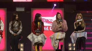 [ENG] CLC(씨엘씨) 'Hobgoblin'(도깨비) Q&A Showcase (CRYSTYLE, Hyuna, 현아, Liar, Mistake, Meow Meow) [통통영상]