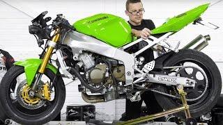 Stunt Bike Build ZX636 03-04