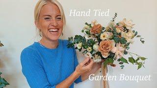 How To Make A Wedding Bouquet (Garden Style)