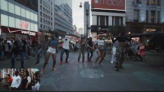 (Surprise Ending) BEST Wedding Proposal Dancehall Flashmob