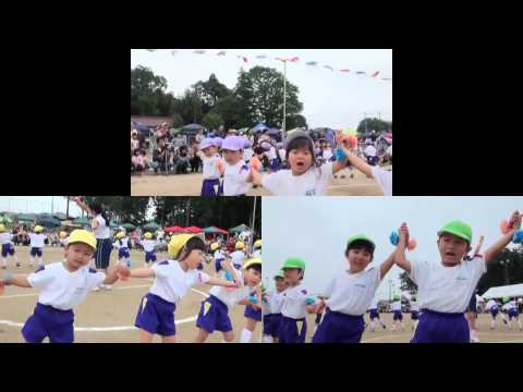 手賀の丘幼稚園 年少 ロックンロールパンダパン