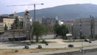 アキーラさん散策②旧ユーゴスラビア・マケドニア・スコピエの城塞周辺,Citadel・Skopje,Macedonia