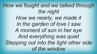 Aqualung - Garden Of Love Lyrics