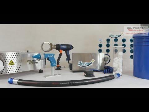 Urządzenia Ultra Clean do czyszczenia węży, przewodów, rur - zdjęcie