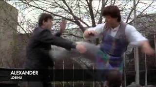 Mr. Nice Guy Jackie Chan chase scene