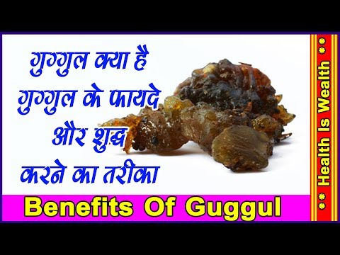 Video गुग्गुल के लाभ | Benefits Of Guggul - Benifits Of Guggul
