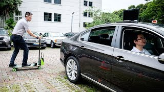 #NTUsg smart mobility solutions showcase drive #smartmobility