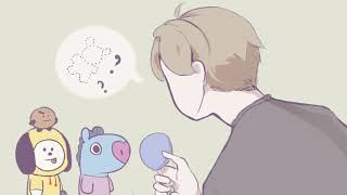 Where is Koya? BT21_FanAnimation  ||  Happy Birthday RM!