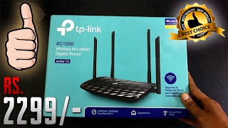 tp-link archer c6 unboxing and review + ping test + speed test 100mbps ( best budget router 2020 )