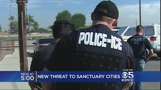 Federal Government Outlines Plan To Punish Sanctuary Cities